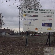 Inauguration plate-forme mutimodale Lomme