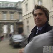 Affaire Jacques Mellick - VA/OM : arrivée Bernard Tapie tribunal de Valenciennes